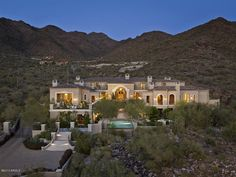 Nestled in the upper canyon of the exclusive community of Silverleaf, this gorgeous formal Mediterranean home is surrounded by mountain, cit...
