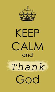 .thank God