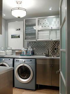 Sarah Richardson's laundry room design
