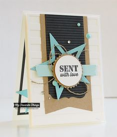 Pinstripe Background, Sending Thanks, Accent It - Rock and Roll Die-namics, Blueprints 13 Die-namics - Inge Groot #mftstamps