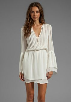 PARKER Risa Dress in Creme - Parker  I should get this dress for free since they named after me.