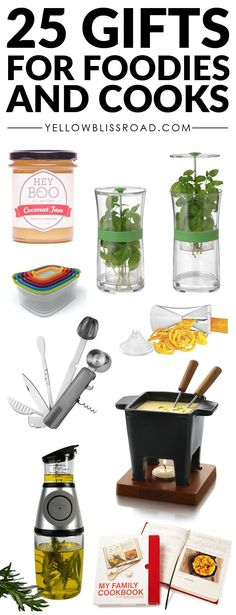 25 Gift Ideas for Cooks & Foodies