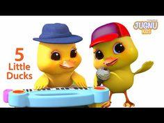 Five Little Ducks   Jugnu Kids Rhymes  Number Nursery Rhyme For Children