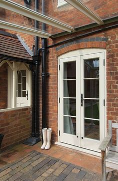 Sliding Bifold & French Doors Suffolk Essex and Norfolk - The Burgess Group - November 11 2019 at Porch Doors, Front Door Entrance, Entry Doors, Wooden Patio Doors, Timber Windows, Timber Door, Windows And Doors, Sash Windows, French Door Curtains