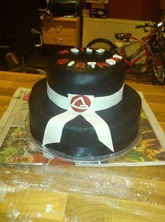 Jiu jitsu cake