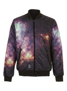Criminal Damage Galaxy Bomber Jacket*