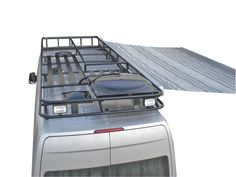 Aluminum Roof Racks - rooftop patio!