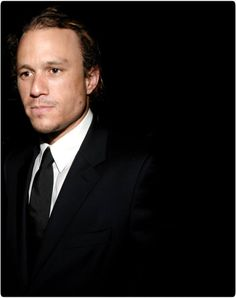 """""""Its like diving into an Olympic pool, swimming the length underwater, then emerging gasping for breath. It's so noisy that it's quiet, you can't hear; the flashlights are so blinding that it's dark, you can't see."""" Heath Ledger on waking the red carpet"""