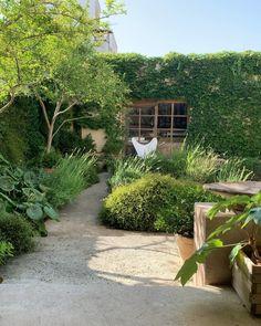 Gravel Garden, Garden Landscaping, Gravel Path, Garden Plants, Small Yard Design, Potters House, Garden Oasis, Earth Homes, Cool Cafe