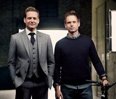 Suits. harvey specter and mike ross, probably the best dressed men in TV