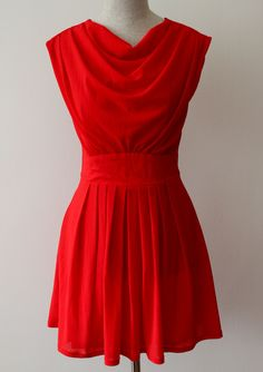 The Red Dress-Front