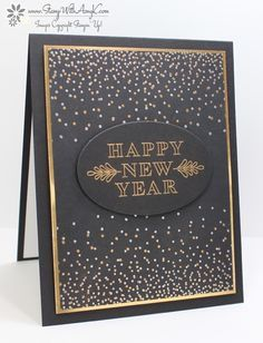 I used the Stampin' Up! Frosted Medallions and Merriest Wishes stamp sets to create a Happy New Year card to share with you today. My card design was inspired by CAS(E) this Sketch 198. The m…