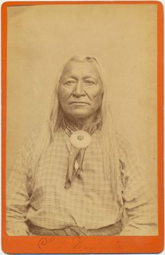 Chief Washkie 1880 cabinet card Baker and by CrowCreekUnique, $950.00