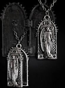 Restyle - Angel in Gothic Window - Locket