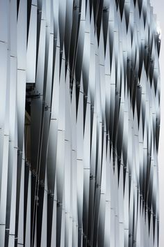 MSCP aluminium fins close up