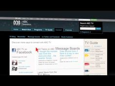 ABC TV has relaunched its official website to incorporate ABC News 24 and ABC iView. Television Online, Tv Guide, Abc News, Messages, Website, Text Posts, Text Conversations