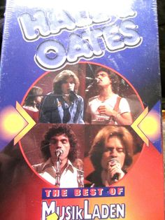 Hall & Oates Live Best of MusikLaden VHS tape RARE new in box