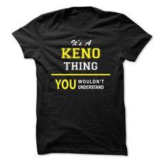 Its A KENO thing, you wouldnt understand !! - #lace shirt #nike sweatshirt. LOWEST SHIPPING => https://www.sunfrog.com/Names/Its-A-KENO-thing-you-wouldnt-understand-.html?68278