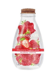 Are you looking for Strawberry Yoghurt Mask: Skin Softening + Brightening 1 ea by Vitamasque? Priceline has a wide range of Skincare products available online. Yogurt, Carbonated Bubble Clay Mask, Glow Mask, Liquid Makeup, Strawberry Fruit, Korean Skincare Routine, Beauty Bay