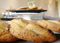 Cookies parfaits aux pépites de chocolat et noisettes - Perfect chocolate chip cookies