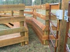Wooden Cattle Corral Designs Pictures