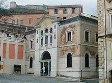 Civic Library, Cosenza (Calabria) Italy