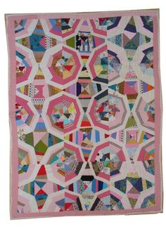 Broken Stars Quilt, Louisiana, cotton, 1940s