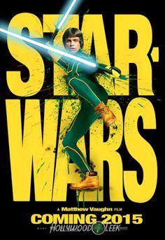 affiches de star wars vii kick ass   Affiches de Star Wars VII inspirées dautres films   Starwars star wars photoshop photo parodie mashup i...