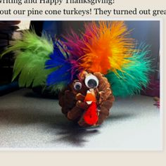 Pinecone Turkeys--for sure. The goofier, the better.it has to live up to the owl, right Bradford Stott B Wilday ? Pinecone Turkey, Autumn Crafts, Bradford, Pine Cones, School Ideas, Owl, Thanksgiving, Wreaths, Base