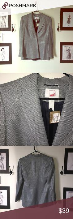 Vintage Mondí blazer Vintage blazer. Lurex thread. Great condition. No marks on fabric. mondí Jackets & Coats Blazers