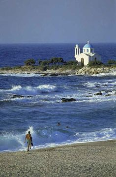 via Yaliskari, Ikaria island, Greece Photo