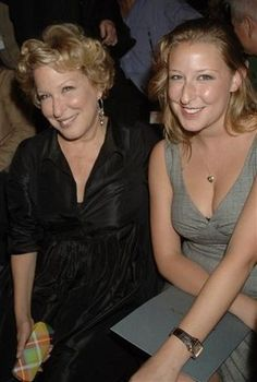 Bette Midler and daughter Sophie