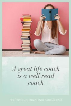 Ten Best Personal Development Books for Life Coaches Beautiful You – Coaching Academy A great life coach is a well read coach. Here are the Ten Best Personal Development Books for Life Coaches. Life Coaching Books, Life Coaching Courses, Coaching Skills, Coaching Quotes, Life Coach Certification, Life Coach Training, Personal Development Books, Happy Reading, Great Life
