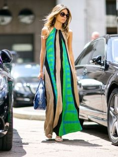 Cute Maxi Dress, Chic Dress, Spring Summer Fashion, Autumn Fashion, Glamour, School Fashion, Street Chic, Street Style Women, Get Dressed