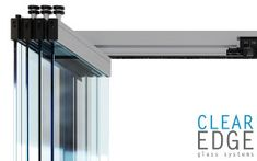 Clear Edge Glass is the Australian leading manufacturer of sliding door systems, offering aesthetically beautiful and innovative sliding glass door solutions. Sliding Door Systems, Sliding Glass Door, Sliding Doors, Glass Doors, Door Wall, Innovation, Track, Home Appliances, Windows