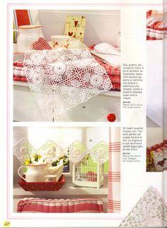 "Photo from album ""Burda Special Вязание крючком. - - on Yandex. Crochet Lace, Crochet Stitches, Crochet Patterns, Crochet Tablecloth, Handmade Crafts, Doilies, Knitting, Simple, Creative"