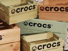 Personalised Crates for Point of Sale, Retail Display & Event Support