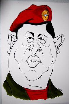 hugo chavez, vénézuela, caricature, chrib