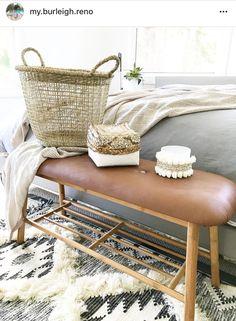 731 Likes, 205 Comments - My Burleigh Reno Rustic Design, Wood Design, Rustic Decor, Earthy Bedroom, Rental Home Decor, Kmart Decor, Cedar Homes, Cabin Homes, Photos