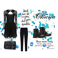 (Y/n)'s Outfit by unicornslifeever on Polyvore featuring Armani Collezioni and Forever 21