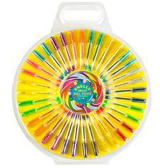 Fruit scented glitter/neon gel pens.