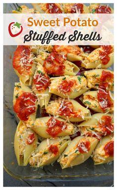 Sweet Potato Stuffed Shells | Healthy Ideas for Kids