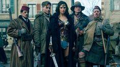 Wonder Woman 2017 5K Wonder Woman (Gal Gadot)and Steve |Trevor (Chris Pine) DC Movie 5120x2880