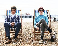 Celebrating the Mod culture Mod Fashion, Vintage Fashion, Fred Perry Polo Shirts, Mod Girl, Harrington Jacket, Slim Fit Chinos, Brighton, Culture, Style Inspiration