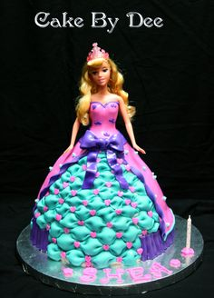 Princess Aurora Birthday Cake