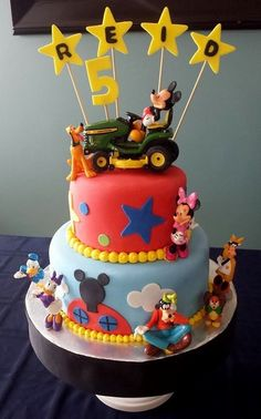 Mickey Mouse Cake - By Badabing Cakes