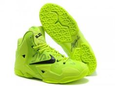 Nike LeBron 11 Black Volt Shoes are popular and fashionable. Shop the newest lebron 11