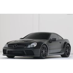 Brabus Mercedes-Benz SL 65 AMG Black Series ❤ liked on Polyvore featuring cars