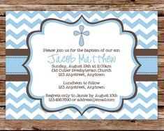Baby Boy Baptism Invitation wording | Baptism ideas | Pinterest ...