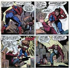 Spider-Man and Peter Parker finally confront Uncle Ben's killer - Amazing Spider-Man 200